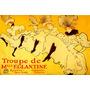 Cartaz Poster Dançarinas Balé Show França Paris Lautrec