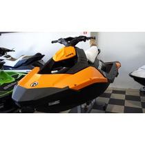 Jet Ski Brp Sea-doo Spark 3up Ibr 90hp 2015 - Novo -promoção
