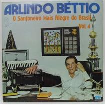 Lp Arlindo Béttio - Vol 4 - 1979 - Copacabana