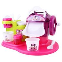 Kit Maquininha De Sorvete Minnie Disney Brinquedo Toyng