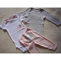 Carters Conj 3 Peças 12m Importado100 %algodão Novo Original
