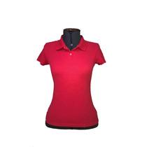 Camisa Polo Feminina, Baby Look, Bordado Logomarca, Uniforme