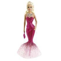 Boneca Barbie Vestidos Longos Ensaio Fotográfico Mattel