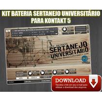 Samples Para Kontakt - Kit Bateria Sertanejo Universitário