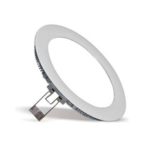 Lampada Led Painel Lamp Slim 6w Teto Gesso Base Embutir Spot
