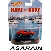 Ferrari Dino Casal 20 Hart To Hart Retro Hot Wheels 1/64