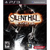 Silent Hill Downpour Ps3 Lacrado Portugues