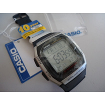 Relogio Casio Digital- Com Luz- Quadrado-original