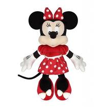 Boneca De Pelúcia Disney Minnie Mouse Vermelha Original 48cm