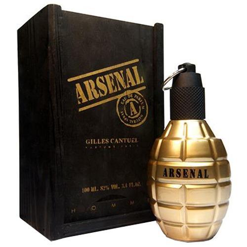 Arsenal Gold Eau De Parfum Gilles Cantuel - 100ml