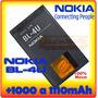 Bateria Nokia Bl-4u 1000mah E 1110mah Frete Único Brasil