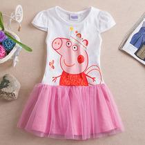 Peppa Pig Vestido Tutu (pronta Entrega)