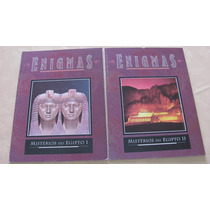 Coleção Enigmas - Misterios Do Egito 2 Vol Frete Gratis