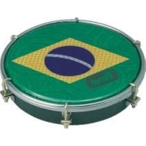 Tamborim Torelli Tt-407 Pele Holográfica Do Brasil