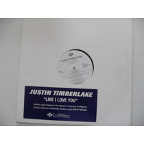 Justin Timberlake - Like I Love You - 12 Importado Us