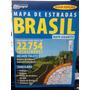 Mapa De Estradas Brasil 2014 - Mapograf - Frete Grátis