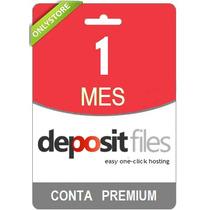 Conta Premium Depositfiles 30 Dias - Direto Do Site! Oficial