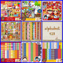 3 Kits Scrapbook Digital Festa Junina- Frete Gratis