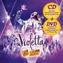 Kit Dvd + Cd Violetta - Ao Vivo (2013) * Lacrado * Original