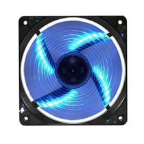 Fan Led Cooler Para Gabinete 12 Cm 120mm 1500rpm - Pixxo