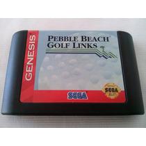 Pebble Beach Golf Links Mega Drive Sega Genesis Original