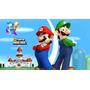 Painel Infantil Decorativo Lona Super Mario 2,00 M X 1,00 M