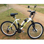 Bicicleta Elétrica Modelo Hupi 350w 36v Bat. Cilíndrica 10ah