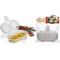 Forma Para Fazer Ovo E Omelete No Microondas + Frete Grátis