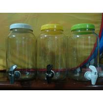 Suqueiras De 3 Litros Com Suporte De Vidro E De Acrilico