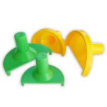 Forma Modelador Pastel Salgados Massas Risoli Kit 4 Pçs