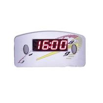 Relógio Horas Digital Carro Painel 12v Cinza Led Vermelho