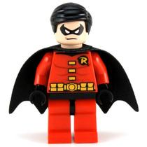 Boneco Lego Robin Original Batman Dc Heroes Set Lego 6857