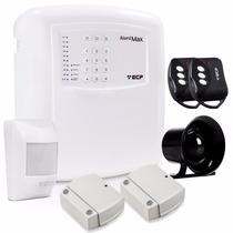 Kit Central Alarme Sem Fio C/disc.ecp + Bateria Frete Grátis