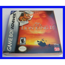 Rei Leão Gba The Lion King Game Boy Advance Mario Lacrado