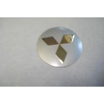 Emblema Mitsubishi Para Rodas Esportivas 58mm