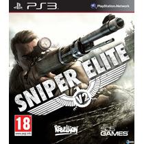 Sniper Elite V2 Ps3 Original (codigo Psn) #super Promoção#.