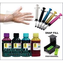 Kit Recarga Hp C3180/f4280/5280/5580/j4680/1000/2000/3000