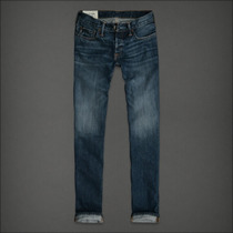Abercrombie Calça Jeans Slim Straight Tamanho 42 Br