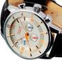 Relógio Esportivo Jaragar - Automático - Pulseira De Couro