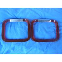 Conjunto Porta Toalha Acrilico Vermelho Decada De 60