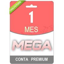 Conta Premium Mega 30 Dias - 1 Mes - Direto Do Site! Oficial
