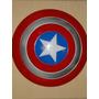Perfeito Escudo Disco Capitão America Vingador Resistente