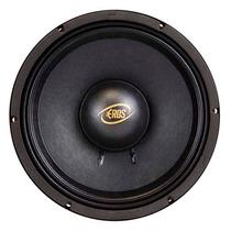 Woofer Eros E-10 Lc Black 10 Polegadas 400watts Rms - 4 Ohms