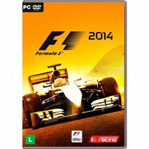 Fórmula 1 2014 Pc Em Português + Pôster Brinde