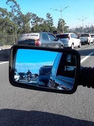 Lan�amento Pelicula Azul Para Retrovisores De Carros E Motos