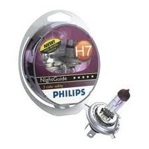 Lâmpada Do Farol Philips H7 12v 55w Cb/cbr600/lander/ninja