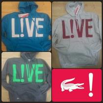 Lançamento Blusa Moletom Lacoste Live Canguru Fluxo Grifes