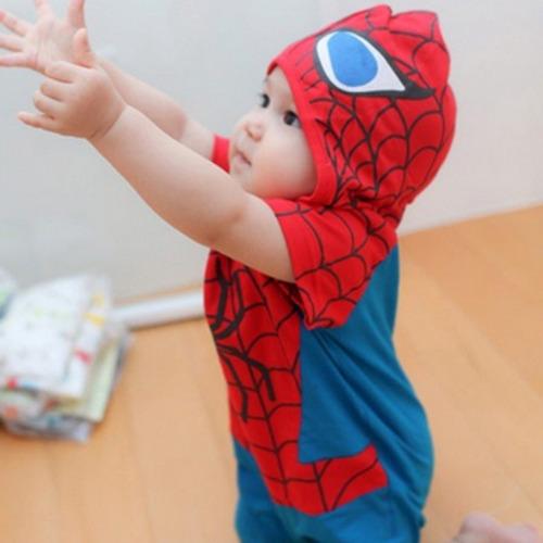 Macacão Fantasia Spiderman - Homem Aranha Bebê  c920ad4f032