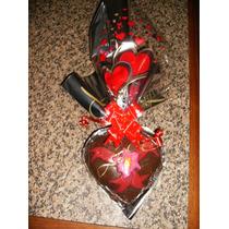 Coração Trufado Feito Com Chocolate Garoto 500gr R$ 45,50