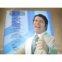 Silvio Santos Show De Alegria Disco Lp Vinil Raridade